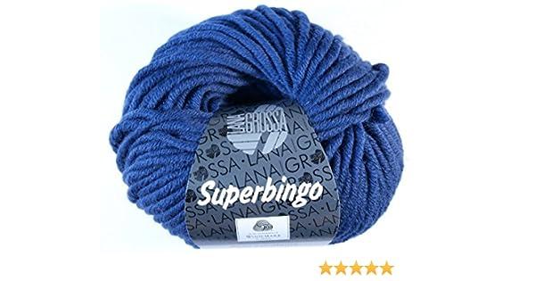 Lana Grossa Fb Superbingo 64 royal 50 g Wolle Kreativ