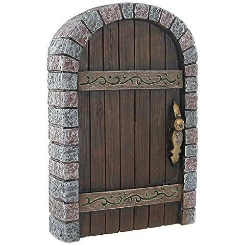 Porte de Fée Château Kingdom 13cm–Accessoire de Jardin mystique Fée Elfe Pixie magique