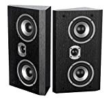 Dynavoice Magic FX-4 - Paar Lautsprecher - Schwarz. Kompakt-Monitor-Lautsprecher. Hochtöner: 1 x 1