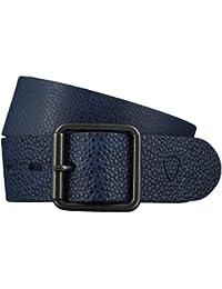 Strellson Gürtel Herrengürtel Ledergürtel Jeansgürtel Blau 4419