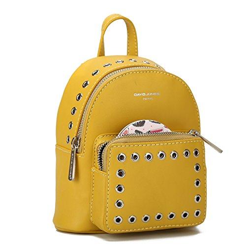 Otomoll Mini Frauen Rucksäcke Pu Leder Weibliche Schule Umhängetaschen Teenage Girls College Student Casual Bag Handtasche White