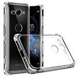 ZealBea Focus Sony Xperia XZ2 Compact Coque, Housse de Protection Souple en TPU Slim...