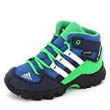 adidas Kinder Stiefel TERREX MID GTX I core blue s17/chalk white/energy green s17 25