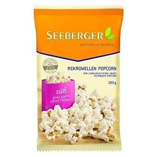 Seeberger Mikrowellen-Popcorn süß, 11er Pack (11 x 100 g)