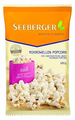 Seeberger Mikrowellen Popcorn Salzig, 22er Pack (22 x 100 g)