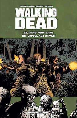 Walking Dead intégrale des tomes 21 à 26, en 3 doubles albums