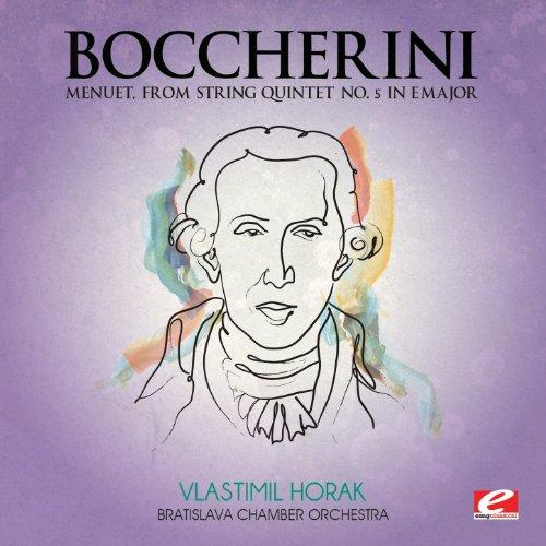 Menuet, from String Quintet No. 5 in E Major