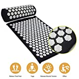 Tapis d'acupuncture Lotus Massage Tapis de yoga Coussin de massage de remise en forme Tapis d'acupuncture Tapis de massage Tapis d'acupression et coussins
