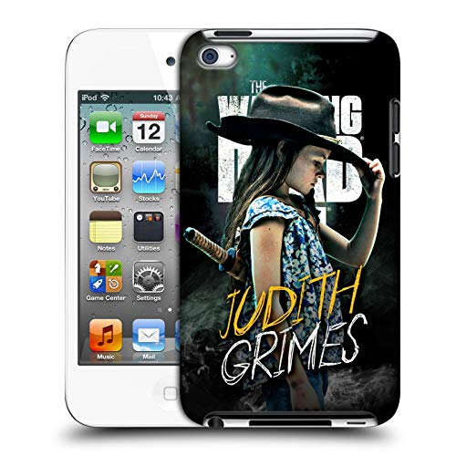 fizielle AMC The Walking Dead Judith Grimes Staffel 9 Zitate Harte Rueckseiten Huelle kompatibel mit Apple iPod Touch 4G 4th Gen ()