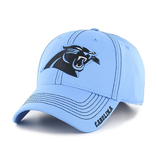 Retro-designer-center (OTS NFL Start Line Center Stretch Fit Hat, unisex, NFL Start Line OTS Center Stretch Fit Hat, Blau - Glacier Blue)
