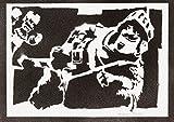 moreno-mata Prinz Clash Royale Handmade Street Art - Artwork - Poster