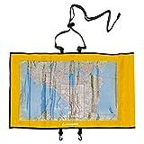 Aqua Quest TRAIL Gelber Kartenhalter Wasserdichte und transparente Mehrzweck-Trockentasche für Kajak, Angeln, Surfen
