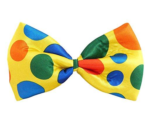 Islander Fashions Herren Clown Kipper Rainbow Tartan Fliege Boys Fancy Dress Party Wear Zubeh�r Blow One Size