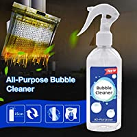 Hete-supply All-Purpose Bubble Cleaner Spray, Multifunctional Household Kitchen Car Cleaning, Best Natural Cleaning Product Foam Cleaner For Grease, 200ml