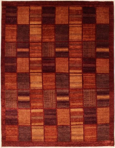 RugsTC 249 x 328 Chobi Ziegler Area Rug Made Using Vegetable Dyes with Wool Pile Hand-Knotted in Brown,Dark Brown,Beige Colors | a 244 x 305 Rectangular Double Knot Rug -