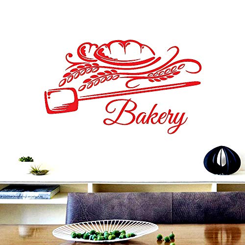 Kreative Mode Bäckerei Süße Köstliche Brot Toast Vinyl Wandaufkleber Küche Dekoration Kunst Wandtattoos Wandbilder 30 * 50cm B
