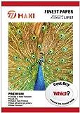 100 Feuilles A4 230gsm brillant Photo Papier Oeuvres Avec Tout imprimeur Inkjets