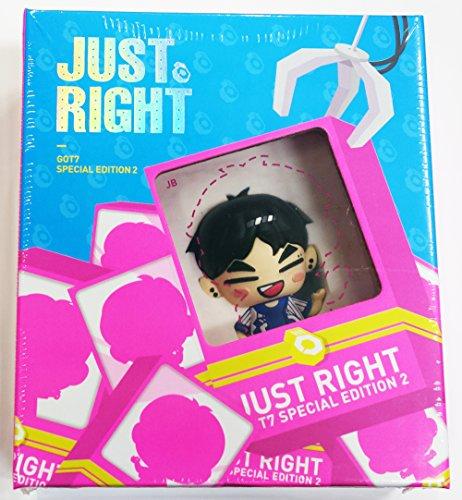 520 Usb (GOT7 - Just Right Special Edition 2 [USB Album + Out Case] JB Ver. + Fotokartenset)