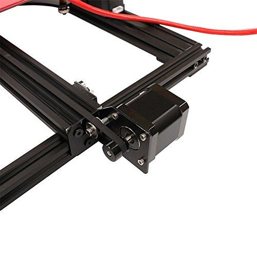 HE3D vormontierter SKY 3D Drucker mit Titantextruder AC Wärme Bett voll Aluminium große Baugröße 300 * 300 * 400mm Doppelköpfe als Geschenk - 6