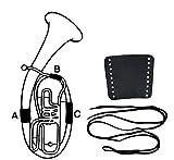 Gewa 720582 Protection de main en cuir pour Bugle