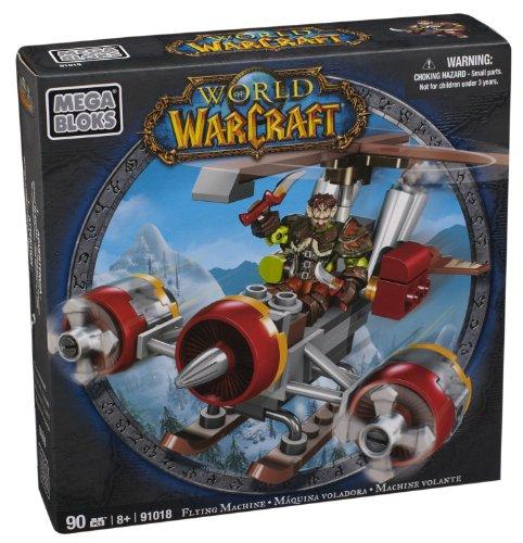 Mega Bloks 91018 - Warcraft Flint Y Maquina Voladora