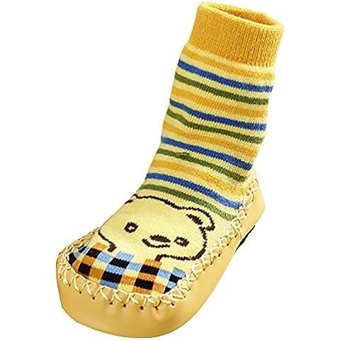 Tang Imp New Baby Boy Girl calze antiscivolo scarpe bambini Indoor Floor Calze Lunghe da donna pantofole a mocassino