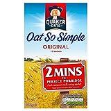 Avena Quaker tan simple Gachas original de 12 x 27 g