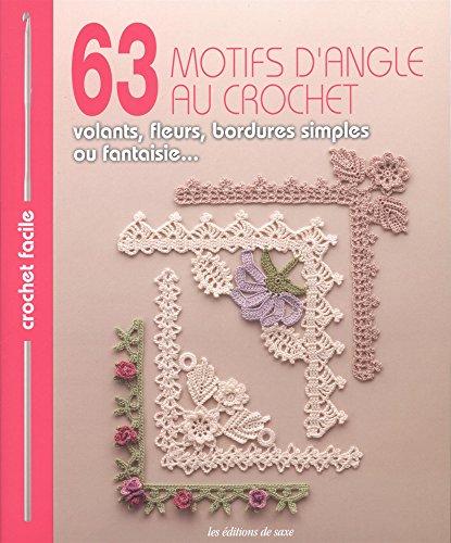 63 motifs d'angle au crochet