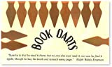 Bookdarts bookmarks - 12 pack - bronze