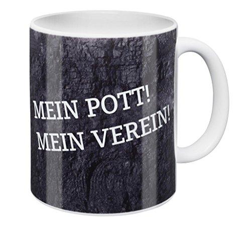 FC Gelsenkirchen-Schalke 04 eV FC Schalke 04 TasseMein Pott! Mein Verein!