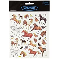 Tattoo King Multi-Colored Stickers-Thoroughbred Horses