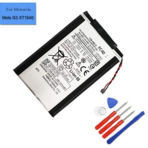Batteria di ricambio FC40 compatibile con Motorola Moto G3 Moto G 2015 XT1540 XT1541 XT1543 XT1544 XT1548 PL482730 3.8v 2300mah