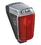 LED-Dynamo-Rücklicht Trelock Duo Top LS 633, schwarz mit Standlicht