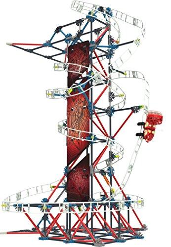 K'Nex - Thrill Rides - Juego de construcción de montaña rusa, a partir de 9años, juguete educativo de construcción, 439piezas
