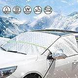 Aokebeey Protection de Pare-Brise pour Pare-Brise de Voiture - Protection Contre Le Gel - Épaisseur du Pare-Brise pour Pare-Brise - Réflecteur et fenêtres