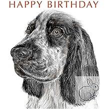 Geordie the Cocker Spaniel - Birthday Card
