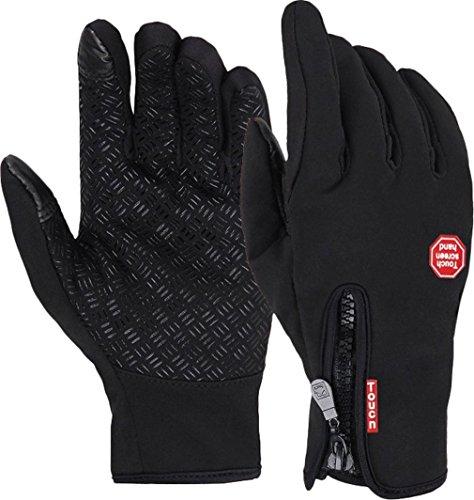 Warme Winterhandschuhe CuOmix® Outdoor Radfahren Laufen Touchscreen Handschuhe mit dickemFleecefutter Update-Version