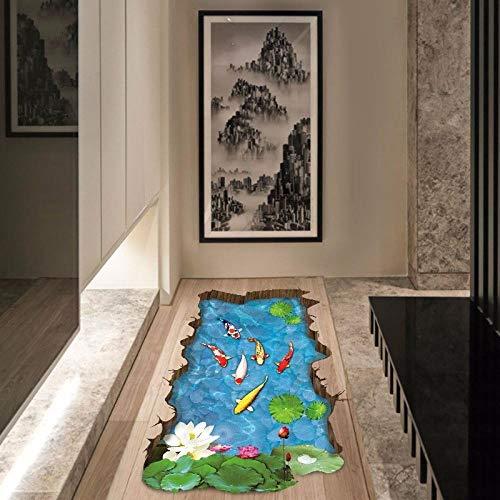 WALLSTIKCHawaiian Koi wandaufkleber wohnkultur wohnzimmer diy wandkunst aufkleber entfernbare wandaufkleber -