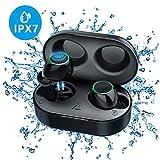 Azul Glowjoy Auriculares Bluetooth V5.0 Inal/ámbrico In-Ear Auriculares In-Ear Reducci/ón de Ruido Auriculares inal/ámbricos con micr/ófono manos libres Surround Earbuds para Deporte//Oficina//Conducci/ón