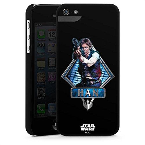 Apple iPhone X Silikon Hülle Case Schutzhülle Star Wars Han Solo Merchandise Premium Case StandUp