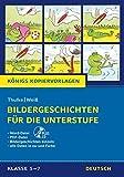 Bildergeschichten für die Unterstufe (Königs Kopiervorlagen).: Plus CD inkl. aller Daten in schwarz-weiß und in Farbe. Klasse 5-7