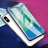 iPhone X Panzerglas, KOROSTRO Ultra Clear iPhone X Schutzfolie Anti-Kratzer Displayschutzfolie mit...