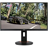 "Acer XF250Q Cbmiiprx 24.5"" Full HD (1920 X 1080) Zero Frame TN Gaming Monitor With AMD FREESYNC Technology - 1ms 