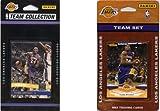 C & I Collectables NBA Los Angeles Lakers 2verschiedene lizenzierte Trading Card Team Sets