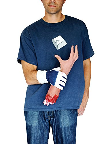 Morph MCCLMAGSEH1 - Abgeschlagene Hand Illusion Erwachsene verrücktes Kleid Kostume (Abgetrennte Hand Kostüm)