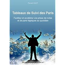 Tableaux de Suivi des Paris