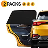 Vaxuia Car Window Shades for Baby- Full coverage SUV/Sedan Rear Side Windows Absorbs