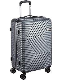 American Tourister Ellen ABS 68 cms Grey Hardsided Check-in Luggage (AMT Ellen SP68 cm TSA Grey)