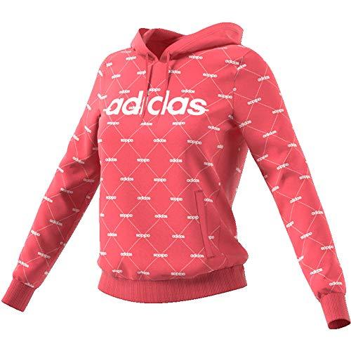 Adidas Essentials Linear Pullover Hoodie Schwarz Herren