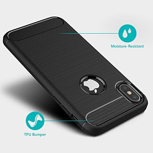 51 gF0H2MIL - [Amazon.de] MillSO iPhone X Schutzhülle für 1,49€ statt 6,99€ *PRIME*
